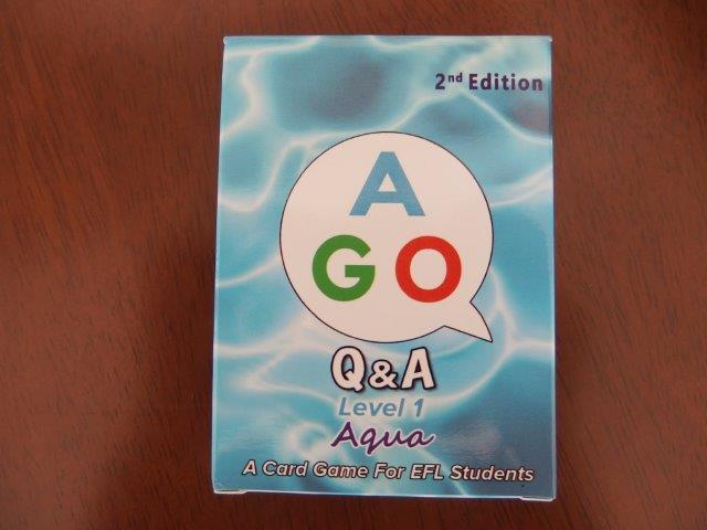 小学生と英語で遊ぶカードゲームAGO